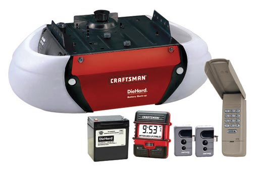 Craftsman 3 4 Hp Belt Drive Opener With Battery Back Up