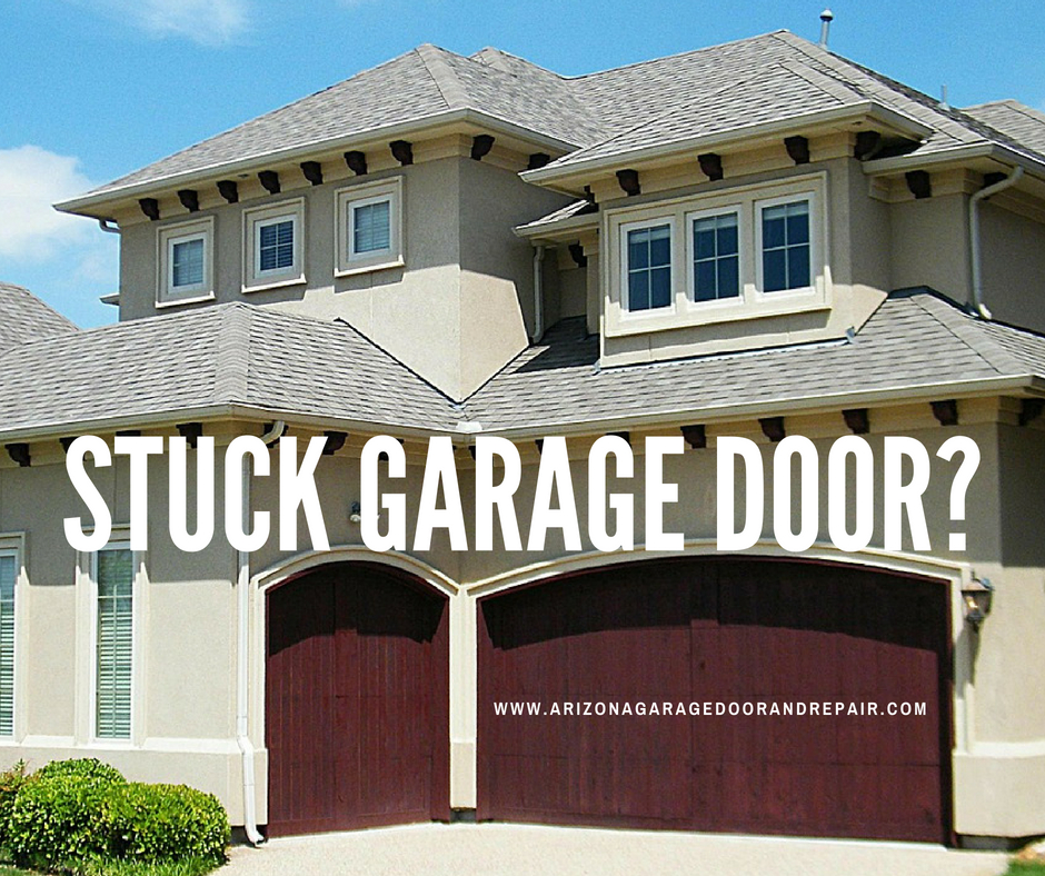 Stuck Garage Door? Troubleshoot It Here!