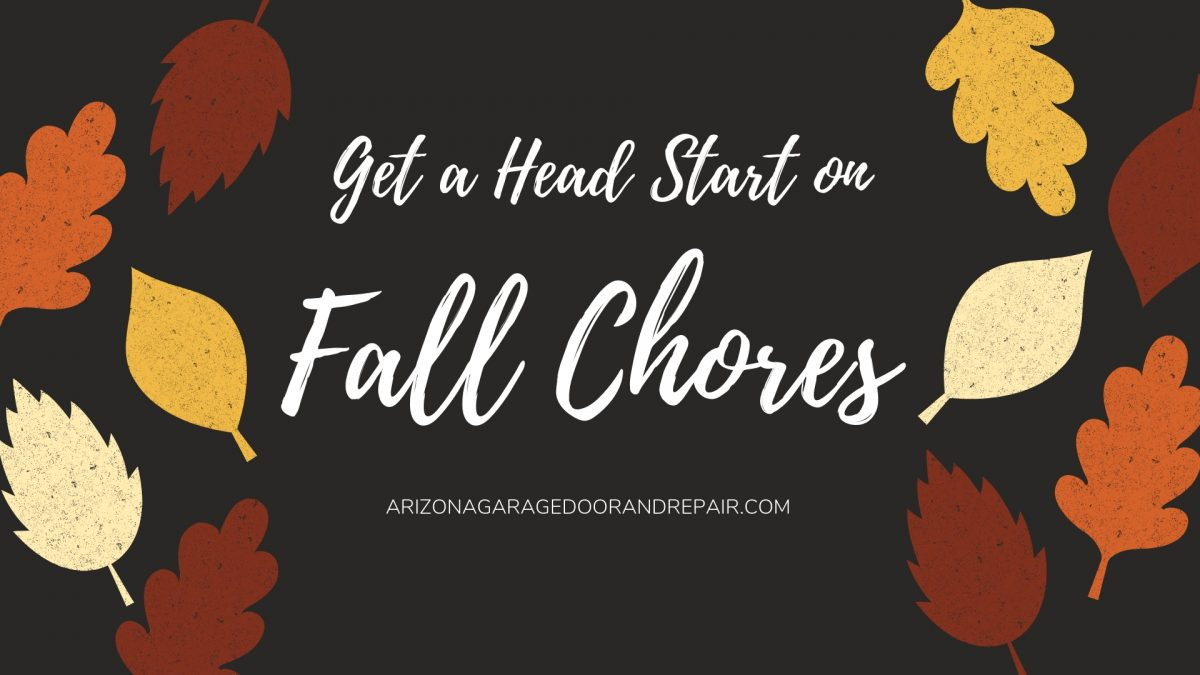 Fall Chore List? Add These 5 Projects