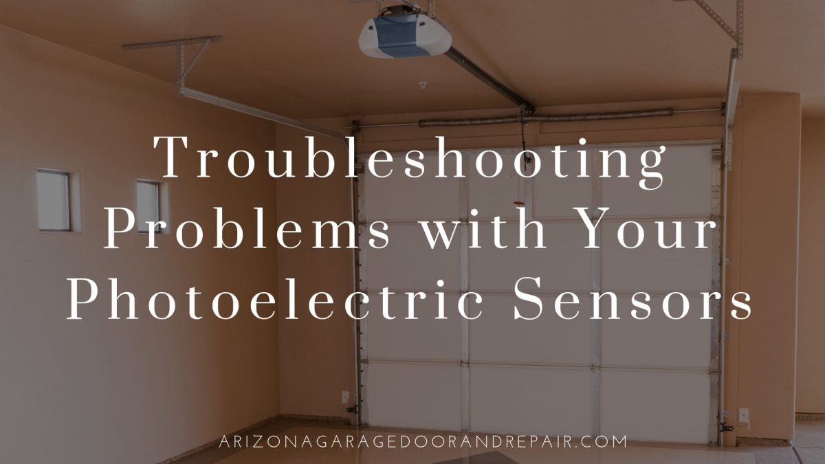 Troubleshooting Problems with Your Photoelectric Sensors