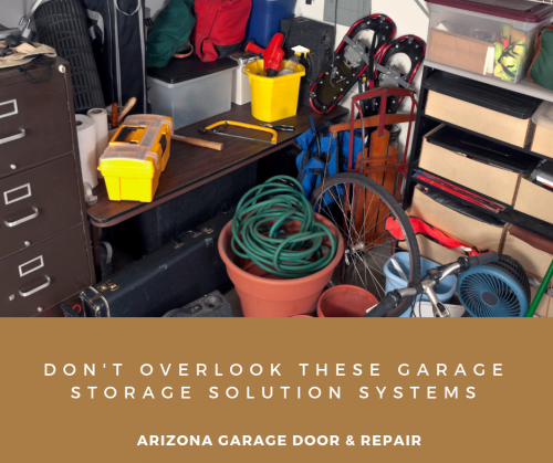 Don't Overlook These Garage Storage Solution Systems